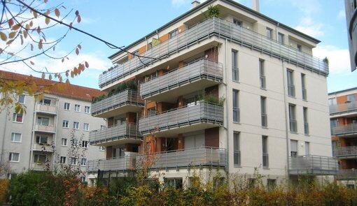 Balkon- und Terrassengeländer mit Acrylglas