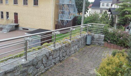 Geländer Edelstahl